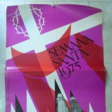 Carteles de Semana Santa: TARRAGONA SEMANA SANTA 1975. Lote 39643509