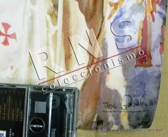 Carteles de Semana Santa: CARTEL CORPUS CHRISTI EN SEVILLA AÑO 1993 - JOSÉ GONZÁLEZ PAPA JUAN PABLO II RELIGIÓN CRISTIANA ARTE - Foto 2 - 39722599
