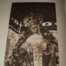 Carteles de Semana Santa: SEVILLA SEMANA SANTA NUESTRA SEÑORA DE LA PRESENTACION HUECOGRABADO 1928. Lote 39726684