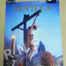 Carteles de Semana Santa: CARTEL DE LA SEMANA SANTA SEVILLA AÑO 1985 - CRISTO RELIGIÓN CRISTIANA CRISTIANISMO FOTOGRAFÍA ARTE. Lote 39797416