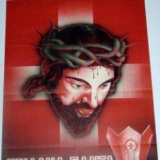 Carteles de Semana Santa: ANTIGUO CARTEL DE ZAMORA, SEMANA SANTA, SEMANA SANTA, ILUSTRADO POR HUERTA, AÑOS 50 – MIDE 70 X 49 . Lote 38281074