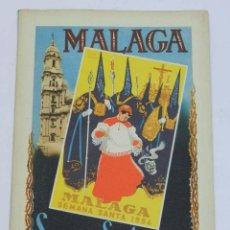 Carteles de Semana Santa: MALAGA SEMANA SANTA 1954 - AÑO 1 NUMERO 1 - MUCHAS FOTOS DE LAS PROCESIONES - 64 PAG. MIDE 25 X 18,5. Lote 40422987