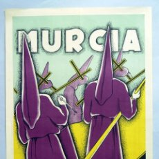 Carteles de Semana Santa: CARTEL SEMANA SANTA MURCIA 1959 LITOGRAFÍA ORTEGA VALENCIA. Lote 40803604