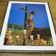Affiches de Semaine Sainte: LAMINA: 41X52 CTMS. SANTISIMO CRISTO DE LA SED.- LA SED.- MIERCOLES SANTO. Lote 40896785