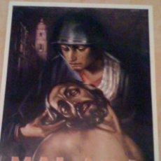 Carteles de Semana Santa: CARTEL DE LA SEMANA SANTA DE MALAGA DE 1986. Lote 41083713