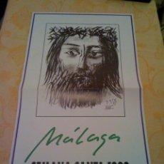 Carteles de Semana Santa: CARTEL DE LA SEMANA SANTA DE MALAGA 1998. Lote 41085214