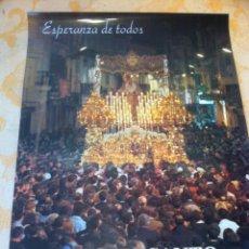 Carteles de Semana Santa: SEMANA SANTA DE MALAGA. CARTEL ESPERANZA DE TODOS 1997 . 3 X 2. Lote 41586023