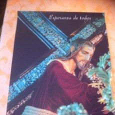 Carteles de Semana Santa: SEMANA SANTA DE MALAGA. CARTEL ESPERANZA DE TODOS 1998. 3 X 2. Lote 41586071