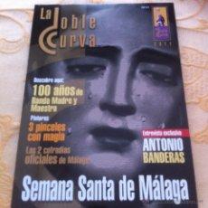 Carteles de Semana Santa: SEMANA SANTA DE MALAGA. LA DOBLE CURVA 2011. Lote 42691943