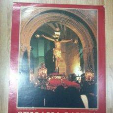 Carteles de Semana Santa: CARTEL SEMANA SANTA BAEZA 1990 48X69 CM.. Lote 160568822