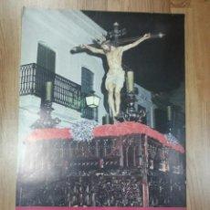 Carteles de Semana Santa: CARTEL SEMANA SANTA MOGUER 1990 48X69 CM.. Lote 43368526
