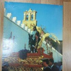 Carteles de Semana Santa: CARTEL SEMANA SANTA MOGUER 1989 48X70 CM.. Lote 43392239