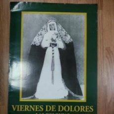 Carteles de Semana Santa: CARTEL SEMANA SANTA HUELVA 2008 49X69 CM.. Lote 43428938