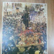 Carteles de Semana Santa: CARTEL SEMANA SANTA HUELVA 1985 44X64 CM.. Lote 43429122