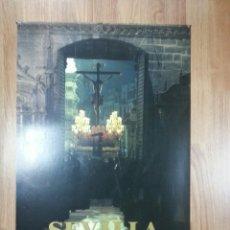 Carteles de Semana Santa: CARTEL SEMANA SANTA SEVILLA 1989 47X69 CM. Lote 43429245