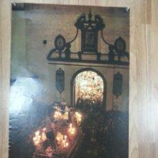 Carteles de Semana Santa: CARTEL SEMANA SANTA SEVILLA SÁBADO SANTO 1989 42X69 CM. Lote 43446844