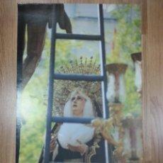 Carteles de Semana Santa: CARTEL SEMANA SANTA SEVILLA SÁBADO SANTO 1990 42X69 CM. Lote 43446857