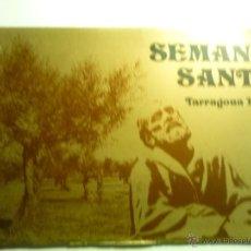 Carteles de Semana Santa: PROGRAMA SEMANA SANTA TARRAGONA 1976. Lote 43923361