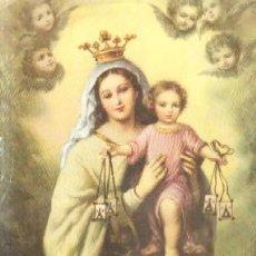 Affiches de Semaine Sainte: LÁMINA DE NUESTRA SEÑORA DEL CARMEN. LAMISESA-0098,10. Lote 44038647
