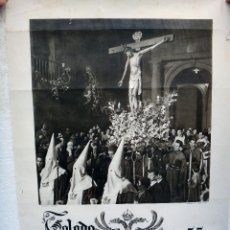 Carteles de Semana Santa: CARTEL SEMANA SANTA , TOLEDO 1955 , ORIGINAL , H. Lote 44286364