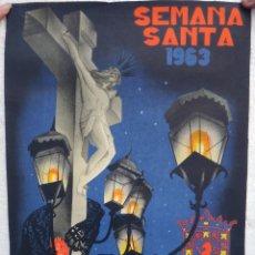 Carteles de Semana Santa: CARTEL SEMANA SANTA CORDOBA 1963 MIDE 30 X 45 CMS. , ORIGINAL , J. Lote 44287361