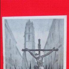 Carteles de Semana Santa: SEMANA SANTA REUS 1947, LIBRITO 36 PÁG. ACTOS Y CELEBRACIONES, GRÁFICAS RABASA. Lote 44315674