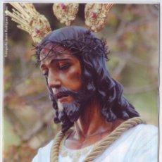 Carteles de Semana Santa: SEMANA SANTA MÁLAGA 2014: HORARIOS E ITINERARIOS DE LOS DESFILES PROCESIONALES. PREVENTIVA. Lote 44424493