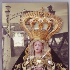 Carteles de Semana Santa: SEMANA SANTA MÁLAGA 2014: HORARIOS E ITINERARIOS DE LOS DESFILES PROCESIONALES. COPICENTRO. Lote 44424604
