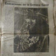 Carteles de Semana Santa: JAEN 1963 PAGINA DIARIO - SEMANA SANTA CRISTO PADRE JESUS NAZARENO EL ABUELO - SABOR DE LA SAETA -. Lote 44668312
