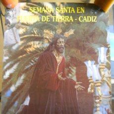 Carteles de Semana Santa: SEMANA SANTA CADIZ 1990. Lote 44869579