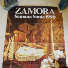 Carteles de Semana Santa: SEMANA SANTA ZAMORA 1990. Lote 45201846