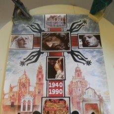 Carteles de Semana Santa: SEMANA SANTA JEREZ 1990. Lote 45248498