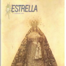 Carteles de Semana Santa: SEMANA SANTA. BOLETIN HERMANDAD DE LA ESTRELLA. FEBRERO 2002, (ST/40). Lote 45307252