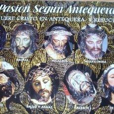 Carteles de Semana Santa: CARTEL POSTER SEMANA SANTA 2003 LA PASION SEGUN ANTEQUERA, TODOS SUS CRISTOS. Lote 45640041