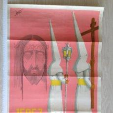 Carteles de Semana Santa: CARTEL JEREZ, SEMANA SANTA, 1964. Lote 45934453