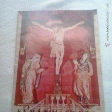 Carteles de Semana Santa: PROGRAMA DE SEMANA SANTA DE REUS DEL AÑO 1961. Lote 46349139