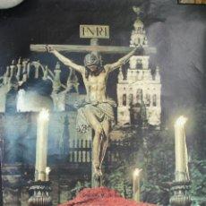 Carteles de Semana Santa: SEMANA SANTA SEVILLA 1971.34X47. Lote 46520654