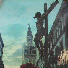 Carteles de Semana Santa: SEMANA SANTA SEVILLA 1971.34X47. Lote 46520679