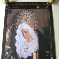 Carteles de Semana Santa: SEMANA SANTA EN BARBATE 2002 CARTEL OFICIAL. Lote 46697279