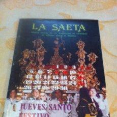 Carteles de Semana Santa: SEMANA SANTA DE MALAGA. LA SAETA NÚM. 1. 1982. Lote 46868666