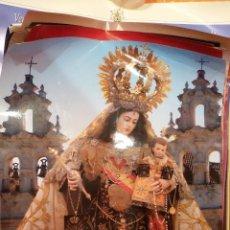 Carteles de Semana Santa: CARTEL RELIGIOSO V CONGRESO HERMANDADES VIRGEN DE CARMEN DE ANDALUCIA - CADIZ 2005. Lote 47243548