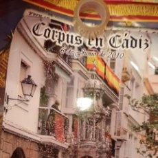 Carteles de Semana Santa: CARTEL CORPUS EN CADIZ 2010 - RELIGIOSO. Lote 47243660