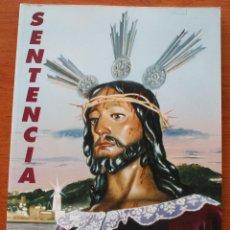 Carteles de Semana Santa: SEMANA SANTA MALAGA 1998. PUBLICACION BOLETIN EXTRAORDINARIO COFRADIA HERMANDAD SENTENCIA. Lote 47773045
