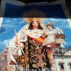 Carteles de Semana Santa: POSTERS. VIRGEN DEL CARMEN DE SAN FERNANDOAÑO 2001. CIEN AÑOS MARINERA MEDIDA 88,5 X 63,5. Lote 47940937