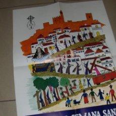 Carteles de Semana Santa: SEMANA SANTA DE ALCALA LA REAL 1984. 52,5 X 39 CM.. Lote 48329164