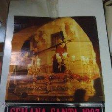 Carteles de Semana Santa: GRAN CARTEL ORIGINAL SEMANA SANTA PUERTO DE SANTA MARIA ( CADIZ ) - GRAN FORMATO 1983. Lote 49657048