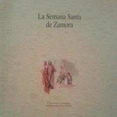 Carteles de Semana Santa: LA SEMANA SANTA DE ZAMORA. COLECCION 17 ACUARELAS FERNANDO LOZANO BORDELL. Lote 49704151