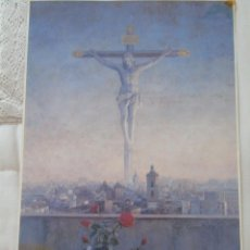 Carteles de Semana Santa: POSTER CARTEL RELIGIOSO SEMANA SANTA DE MÁLAGA. 32 X 49 CM. CARTEL 1995. 85. Lote 50448931