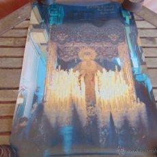 Carteles de Semana Santa: CARTEL DE LA SEMANA SANTA DE SEVILLA MIDE 69 X 50 VIRGEN DEL REFUGIO DE SAN BERNARDO. Lote 52623423