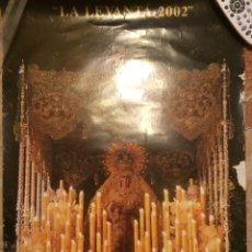 Carteles de Semana Santa: SEMANA SANTA 2002 DE SEVILLA. PEÑA LA LEVANTÁ.. Lote 52915269